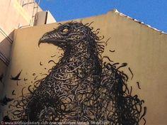 Work by Chinese street artist DeLeast in Malaga's SoHo Art District Malaga-Urban-Street-Art-Stencil-Art-Graffiti-street-installations  www.andaluciadiary.com
