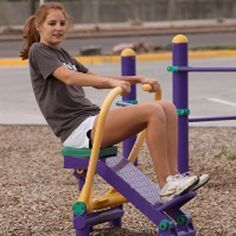 The playground isn't just for kids running amok anymore! Parks and rec departments across the country are investing in adult playground fitness equipment, many of which rival some gym offerings.