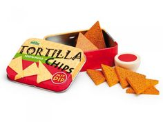 Tortilla Chips in a Tin