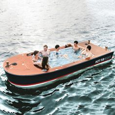 Hot Tub Boats ~ now how could you pass this up? LOL!!
