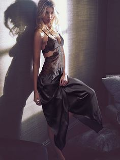 Satin & Lace Gown