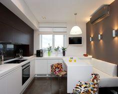 Small Kitchen Design: love the sliding table