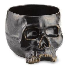 Halloween Skull Punch Bowl 9qt capacity $ 69.95   ----Williams-Sonoma
