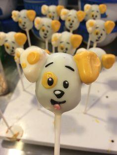 Puppy Cake Pops!