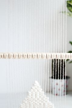 DIY Heddle Bar to Speed up your Weave | Fall For DIY