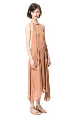 Long Dress with Pockets by Zara