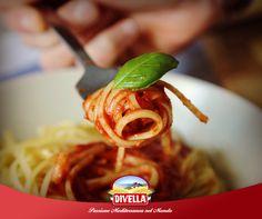 Spaghetti Divella con pomodoro fresco e basilico