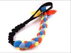 Toys for dog - braided - 60 cm 550 Paracord, Dog Toys, Crochet Necklace, Braids, Dogs, Stuff To Buy, Jewelry, Bang Braids, Cornrows
