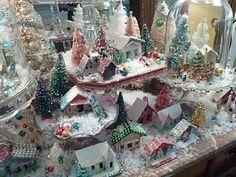 Glitter houses