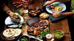 Kaikki reseptit Santa Maria, Tortilla Pizza, Tortilla Chips, Coleslaw, Xmas Food, Gumbo, Bbq Chicken, Tex Mex, Coffee Recipes