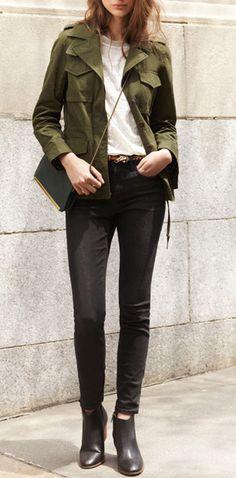 Fall Style | #denimmadewell
