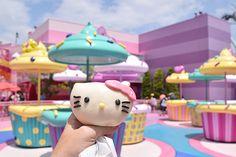 From Universal Studios in Osaka to Tokyo's Keio Plaza Hotel we enjoy buckets of fab feline fun with Hello Kitty in Japan