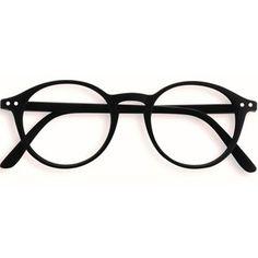 Stylish Izipizi Black Rounded Reading Glasses
