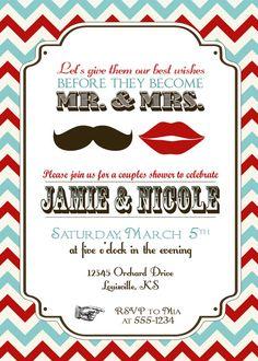 Wedding Shower Invitation Bridal Shower Invitation Shower Invite