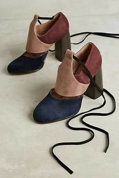 Shop unique high heels from Anthropologie for your essential pumps, kitten heels and more. Zapatos Shoes, Shoes Heels, Bootie Heels, Suede Heels, Crazy Shoes, Me Too Shoes, Schuster, Mode Shoes, Paris Mode