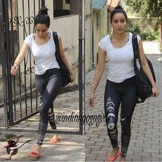 Actress Feet, Fashion Pants, Fashion Outfits, Yoga Mom, Shraddha Kapoor, Yoga Everyday, Yoga Inspiration, Beautiful Actresses, Indian Actresses
