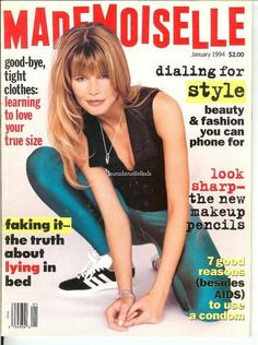 January 1994 cover with Claudia Schiffer