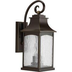 Progress Lighting Maison Collection 2-Light Oil Rubbed Bronze Wall Lantern-P5754-108 - The Home Depot