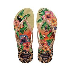 Havaianas Womens SLIM TROPICAL SANDAL SAND GREYROSE GOLD ROSE GOLD SAND GREYROSE GOLD ROSE GOLD 3738 *** Check out this great product.