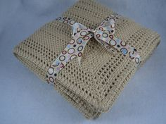 PDF Baby Blanket Crochet Pattern by MoniqueRae on Etsy, $4.95