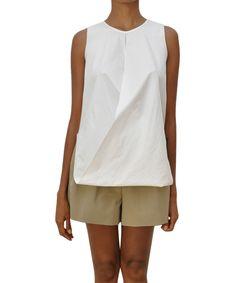 Ter Et Bantine Asymmetric cotton top | Lindelepalais.com 13798