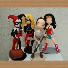 Minhas bonecas modeladas