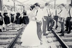 I love the vintage look of this. Cute idea.