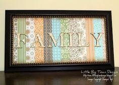 Little Big Town Designs: Altered Frame