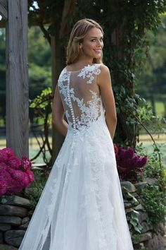 Wedding Dress 3976 by Sincerity Bridal - Search our photo gallery for pictures of wedding dresses by Sincerity Bridal. Find the perfect dress with recent Sincerity Bridal photos. Sincerity Bridal Wedding Dresses, Sheath Wedding Gown, Lace Wedding Dress, Long Wedding Dresses, Cheap Wedding Dress, Bridal Dresses, Wedding Gowns, Rembo Styling, Lace Gown Styles