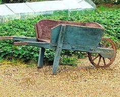 Pinterest Gardening with Pots | antique wheelbarrow | GARDEN ~ Pots & Tools