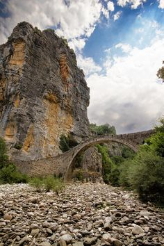Peter Duncan explores Zagori in Greece, with its 92 arched stone bridges and visits the Vikos Gorge, the deepest canyon in the world.