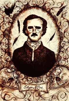"""That I now saw aright I could not and would not doubt; for the first flashing of the candles upon that canvas had seemed to dissipate the dreamy stupor which was stealing over my senses, and to startle me at once into waking life."" --from ""The Oval Portrait"" (1850) by Edgar Allan Poe"