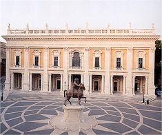 Palazzo dei Conservatori, Michelangelo (completed Giacomo della Porta) Rome, 1536-1568