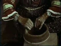 Maria Martinez, Native American coiled pottery   Hands of Maria part1.mp4  (YouTube also has other versions with voice-overs)