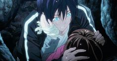 Noragami ~~ Is Yukine angry that Yato tried to steal his thunder or is he angry Yato kissed her instead of him. Description from pinterest.com. I searched for this on bing.com/images