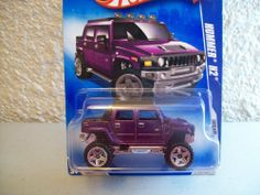 Hot Wheels 2009 Dream Garage Purple Hummer H2 1:64 Scale by Mattel. $6.11. Ages 3+. 05/10 2009 Dream Garage. 1/64 Scale. made in 2008. 151/190 for 2009