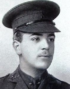 """ROLAND LEIGHTON.On the night of 22nd December 1915 he was ordered to repair the barbed wire in front of his trenches. It was a moonlit night with the Germans only a hundred yards away and Roland Leighton was shot by a sniper. His last words were: """"They got me in the stomach, and it's bad."""" He died of his wounds at the military hospital at Louvencourt on 23rd December 1915. He is buried in the military cemetery near Doullens."""