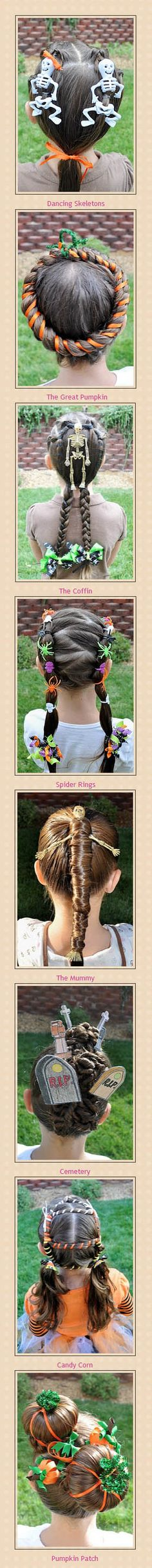Halloween hairstyles Related posts: Halloween hairstyles for kids, girls, adults, teens and women! Tutorials and ide … DIY Halloween Spider Hair Bun Tutorial Is Easy and Inexpensive! Diy Halloween Spider, Spirit Halloween, Fall Halloween, Halloween Crafts, Halloween Party, Halloween Stuff, Cute Girls Hairstyles, Holiday Hairstyles, Halloween Hairstyles