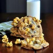 Caramel Corn Chocolate Chip Cookies