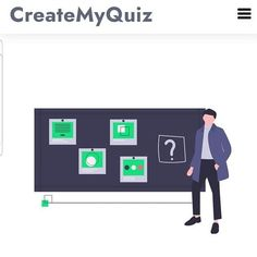 CreateMyQuiz.com is now active! Go ahead and give it a whirl! Quiz Maker, Up And Running, Quizzes, Student, How To Plan, Education, This Or That Questions, Quizes, College Students