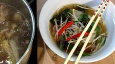 Pho er vietnamesisk og uttales «fa». Pho-suppe er en vietnamesiske nudelsuppe. Vanligvis blir den servert med oksekjøtt eller kylling. Denne gangen er det med oksekjøtt.