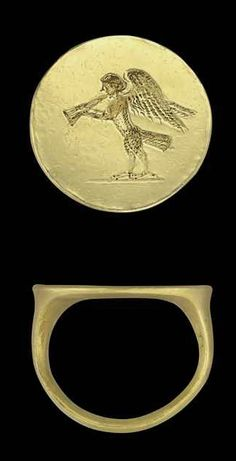 A GREEK GOLD FINGER RING CLASSICAL PERIOD, CIRCA 4TH CENTURY B.C