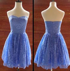 #lace, Elegant Lace Knee Length Homecoming Dress, Lace Party