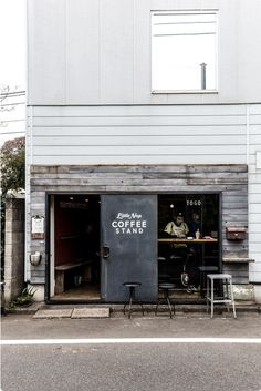 tokyo - Coffee Set - Ideas of Coffee Set - The Little Nap Coffee Stand the tiniest cafe I have ever set foot in with excellent coffee Small Coffee Shop, Coffee Store, Coffee Shop Design, Cafe Design, Store Design, Hipster Coffee Shop, Hipster Chic, Coffee Set, Restaurant Design