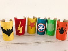 Crafts For Boys, Diy Arts And Crafts, Toddler Crafts, Projects For Kids, Diy For Kids, Avengers Birthday, Superhero Birthday Party, Avengers Crafts, Super Hero Day