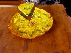Frittata recipe from Alton Brown via Food Network