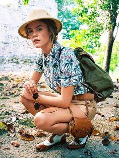How to Look Like the Ultimate Camping Babe | Who What Wear