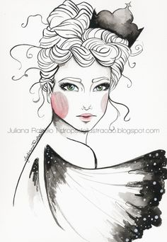 Not very happy about this watermark, but lets see if it worth it. Chinese ink illustration just to practise :) See it on my Facebook fanpage and on Behance.  Thanks for hearting and sharing my work! ♥