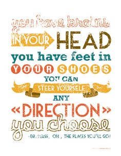 Dr. Seuss quote printable