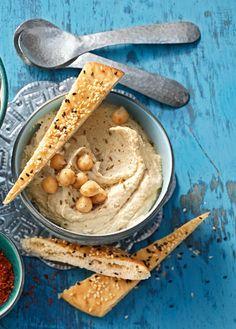 Hummus auf türkische Art - leckere Kichererbsenpaste